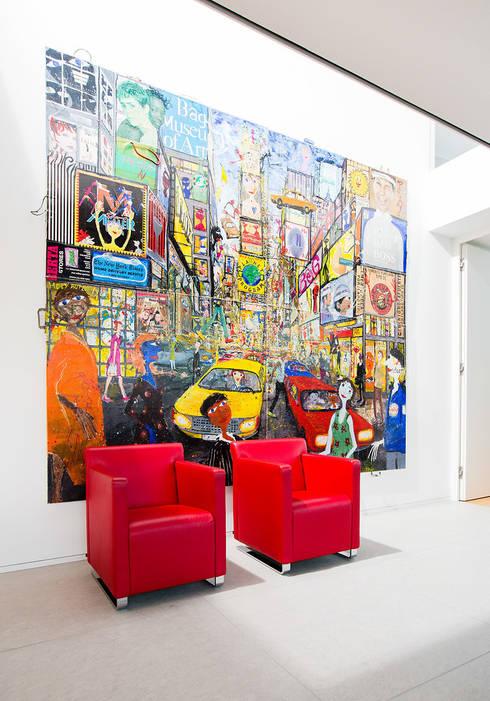 Haus Mauthe:  Wohnzimmer von Philipp Architekten - Anna Philipp