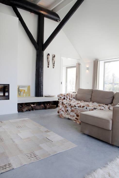 Vakantiehuis Schiermonnikoog:  Woonkamer door Binnenvorm