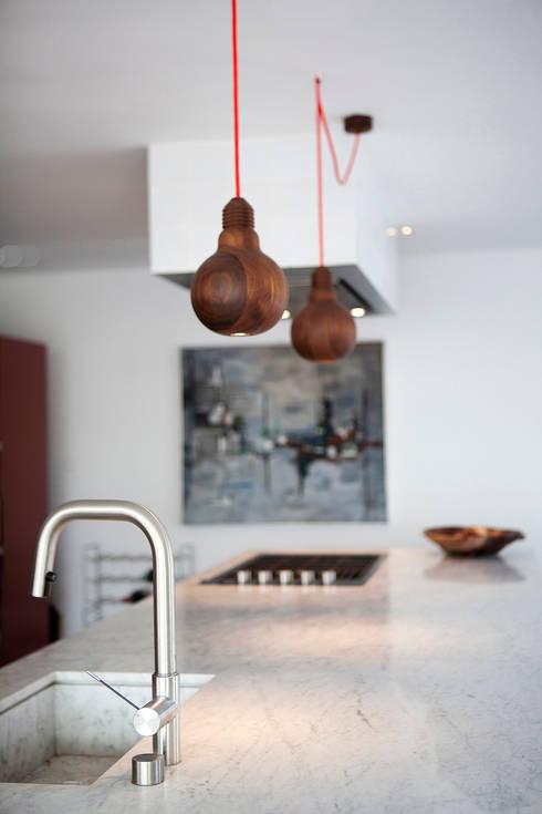 Vakantiehuis Schiermonnikoog: tropische Keuken door Binnenvorm