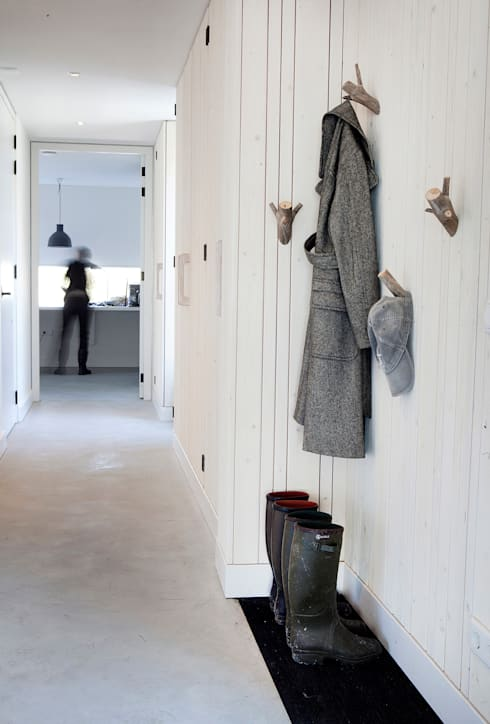 Vakantiehuis Schiermonnikoog:  Gang en hal door Binnenvorm