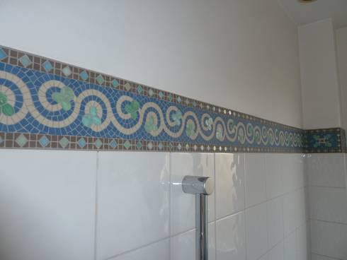 mosa que personnalis e salles de bain par art mosaico homify. Black Bedroom Furniture Sets. Home Design Ideas