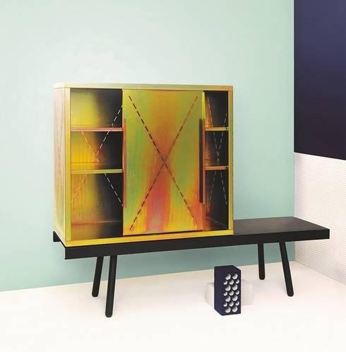 Tauber Cabinet - Pulpo:  Wohnzimmer von ANCHOVI