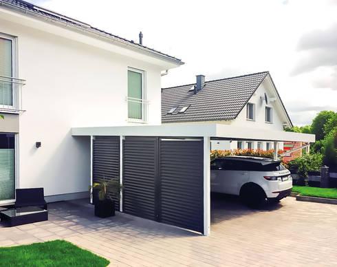 Hochwertige Carports aus Stahl von MyPort - Made in Germany von ...