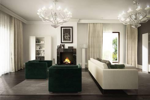 Modern Living Room By Formforhome Architecture U0026 Design