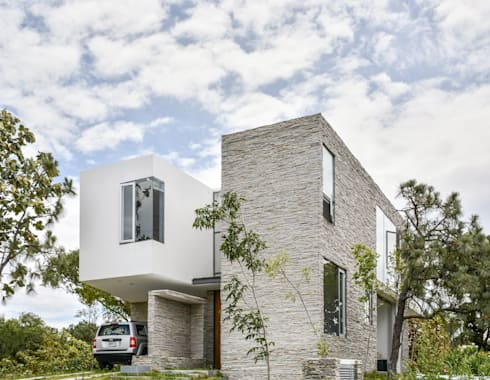 Casa en el Cielo : Casas de estilo moderno por Villar Watty Arquitectos