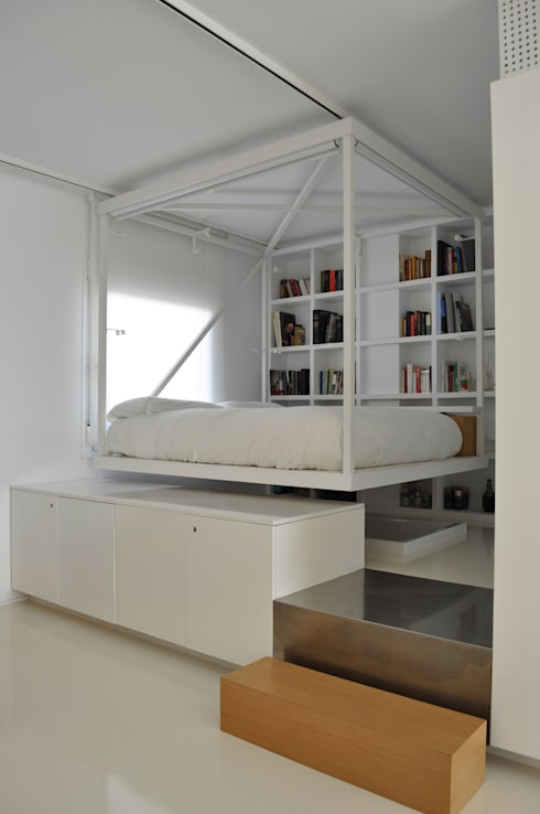 minimalistic Bedroom by 2G.arquitectos