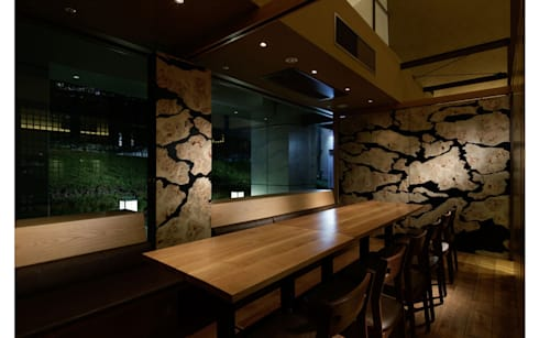 INTERIOR/6: BaNANA OFFICE INC.が手掛けたレストランです。