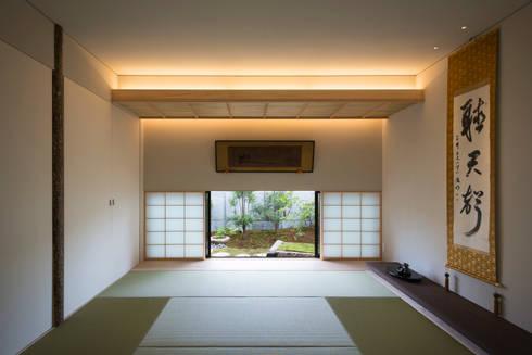 和室:  井上久実設計室が手掛けた和室です。