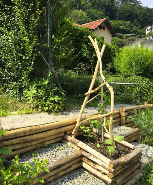 Treillage #Gowild: Giardino in stile  di suingiardino