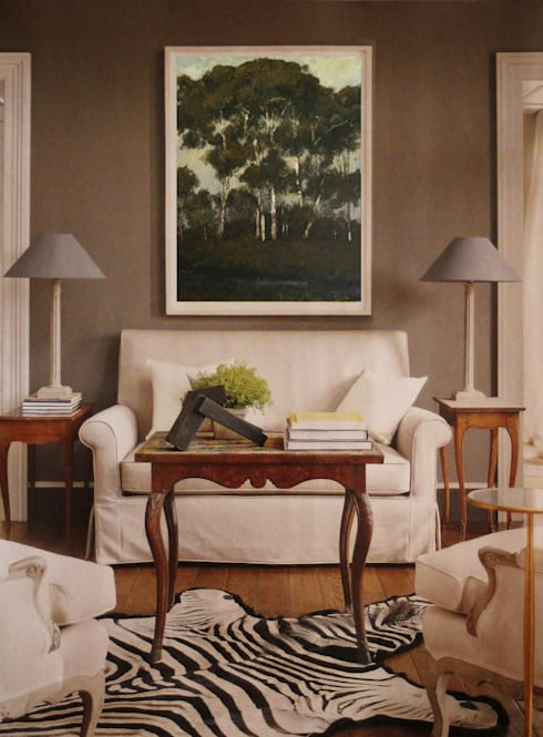 Napier Room:  Living room by Opper & Webb Fine Art Dealers