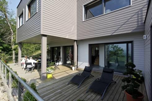 Realisation d'une maison a ossature bois автор - inside home.