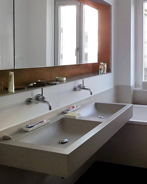 Betonwaschtisch Izumi :  Badezimmer von oggi-beton