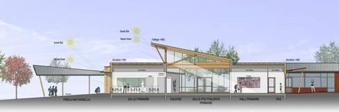 ecole primaire et maternelle migennes 89 par atelier architecture homify. Black Bedroom Furniture Sets. Home Design Ideas