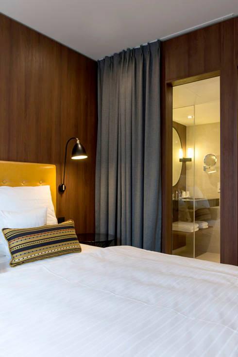 Zimmer - Interiordesign Hotel Berlin:  Hotels von Fine Rooms Design Konzepte GmbH