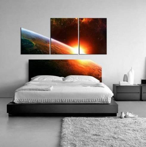 Dormitorios de estilo  por Mobilya