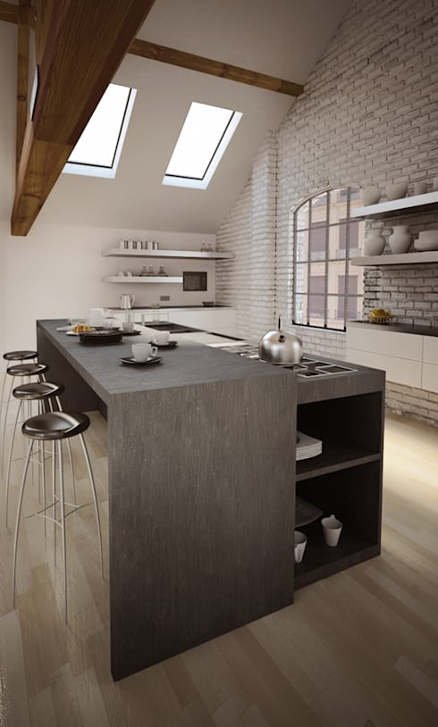Kitchen by alessandro mimiola