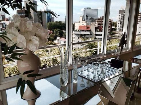 DETALHES : Salas de estar modernas por Motta Viegas arquitetura + design