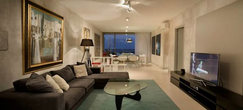 Departamento en Pedemonte: Livings de estilo moderno por Cohen - Reig Arquitectura & Interiorismo