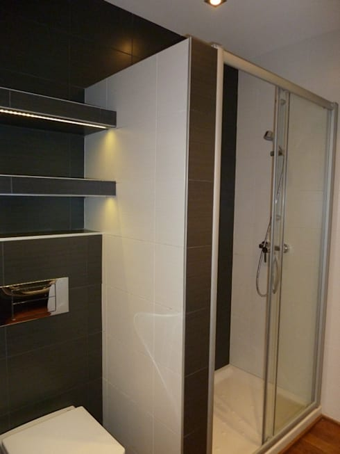 moderne Badkamer door ERRASTI