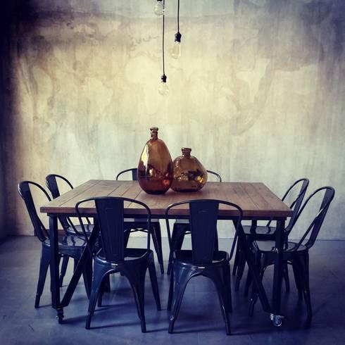 Don Alonso Grillados Argentinos: Gastronomía de estilo  por Cohen - Reig Arquitectura & Interiorismo