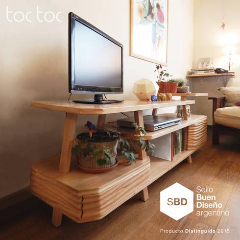 Modular Talampaya: Dormitorios de estilo ecléctico por TocToc - Muebles y Objetos Argentinos