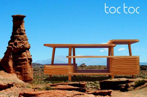 Modular Talampaya: Livings de estilo ecléctico por TocToc - Muebles y Objetos Argentinos