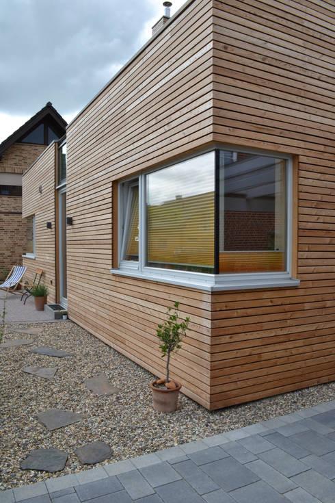 Деревянные дома в . Автор – arieltecture Gesellschaft von Architekten mbH BDA