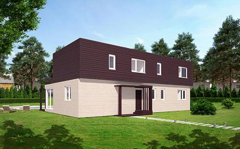 Modelos 2015 casas cube de dos plantas por casas cube - Modelos de casas de dos plantas ...