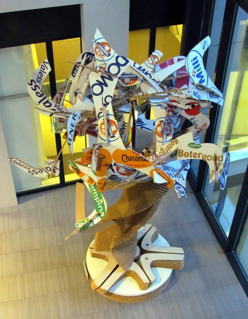 MerkenBoom | Royal FrieslandCampina:  Kantoren & winkels door studio Che Eyzenbach