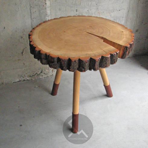Stolik No.9 Lammy: styl , w kategorii Salon zaprojektowany przez Studio Minimal Meble