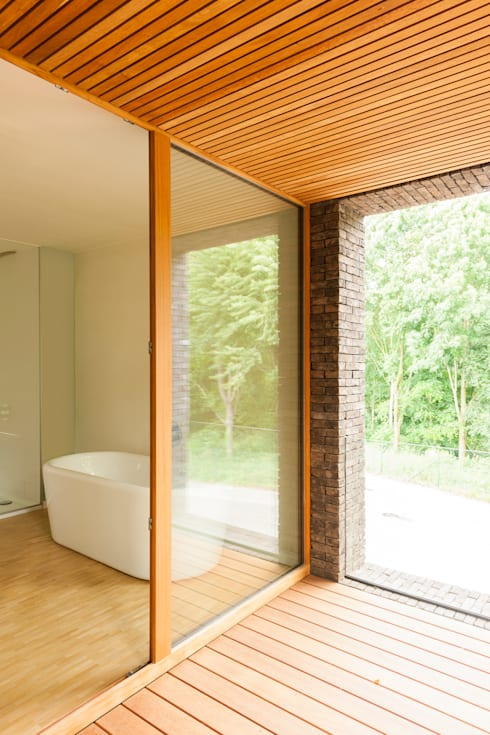 H118:  Badkamer door das - design en architectuur studio bvba