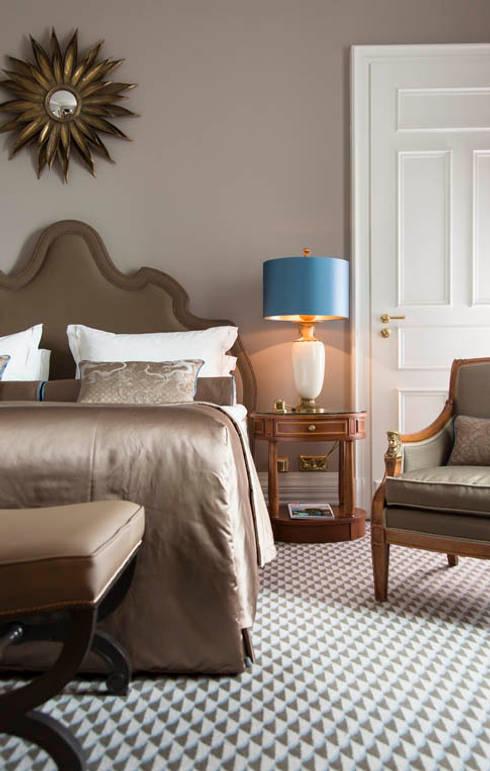Zimmer - Hotel Interiordesign aus Berlin:  Hotels von Fine Rooms Design Konzepte GmbH