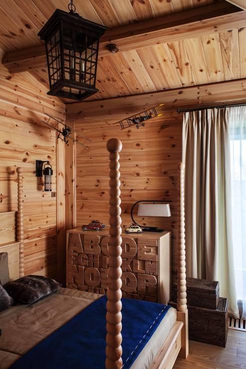 Шале: Детские комнаты в . Автор – Архитектор Татьяна Стащук