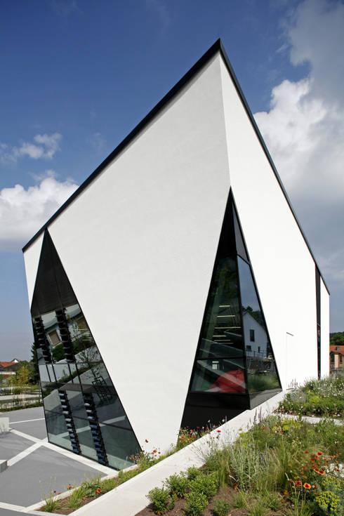 Grimmelshausen Gymnasium Gelnhausen - Neubau Cafeteria + Bibliothek ...