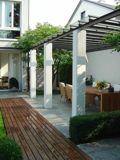 einfamilienhaus ottobrunn - gartengestaltung - 2. platz wettbewerb, Innenarchitektur ideen