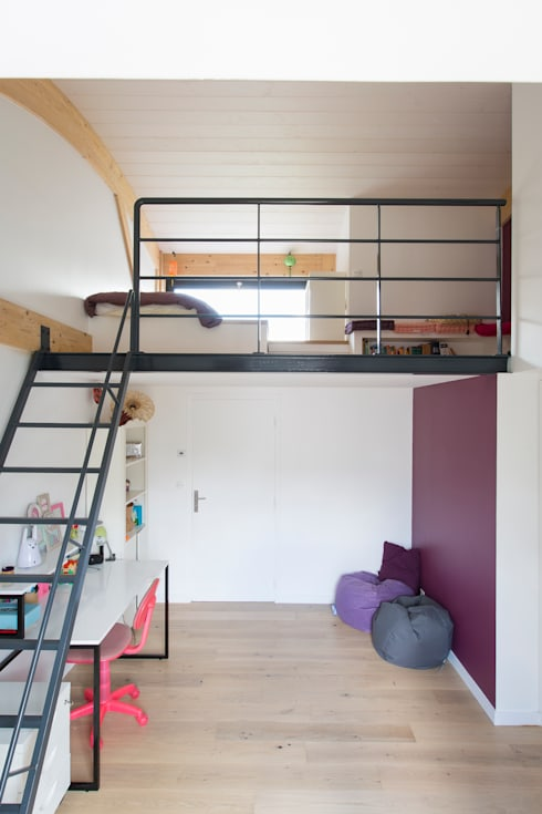 Nursery/kid's room by agence MGA architecte DPLG