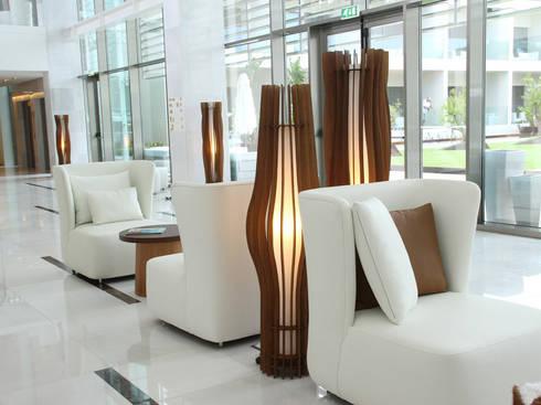 Onyria Marinha Edition Hotel & Thalasso: Hotéis  por MOOD, Lamp Design & Lighting Concept