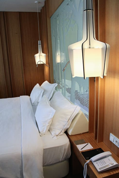 Onyria Marinha Edition Hotel & Thalasso: Hotéis  por MOOD, Lamp Design & Lighting Concept