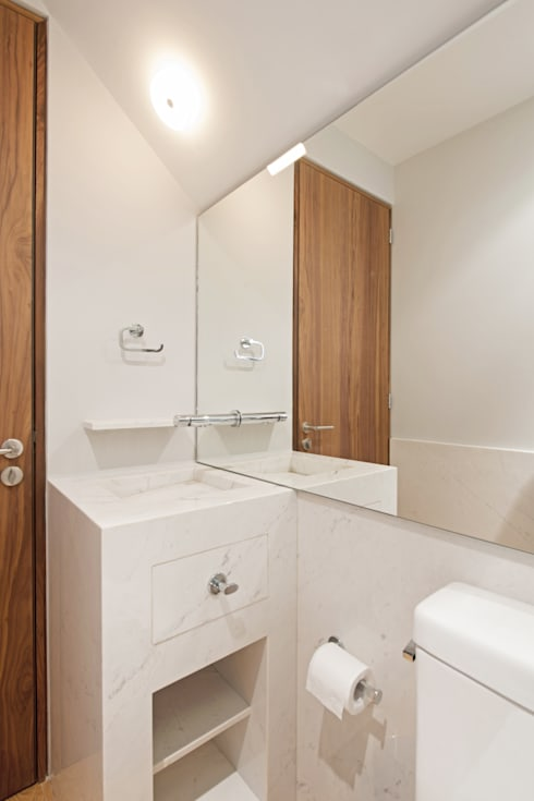 Baños de estilo  por Faci Leboreiro Arquitectura