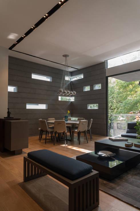 غرفة السفرة تنفيذ Faci Leboreiro Arquitectura