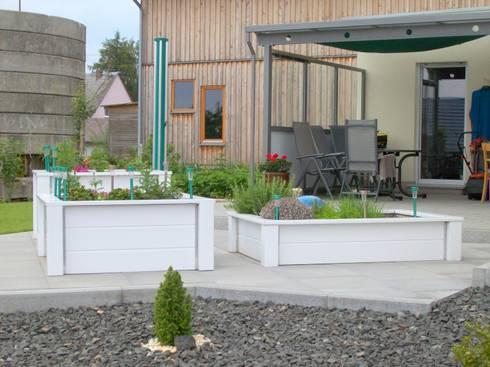 hochbeete terrassen und pergolen von bego holz und stahl homify. Black Bedroom Furniture Sets. Home Design Ideas