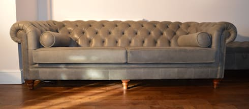 Bespoke Chesterfield Sofas: Classic Living Room By Chandler Upholstery