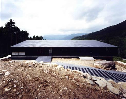 外観:  井上久実設計室が手掛けた家です。