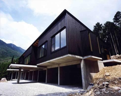 外観3:  井上久実設計室が手掛けた家です。