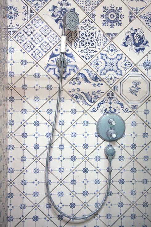 """Таунхаус в поселке """"Довиль"""". Москва.: Ванная комната в . Автор – Мария Остроумова"""