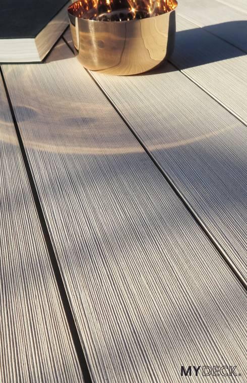 Terrasse, Deck und Poolumrandung:  Wände & Boden von MYDECK GmbH