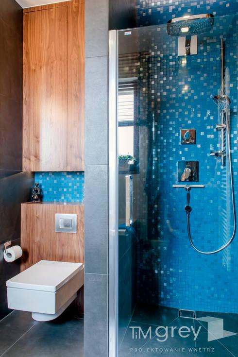 Modern Apartment - 100m2: styl , w kategorii Łazienka zaprojektowany przez TiM Grey Interior Design