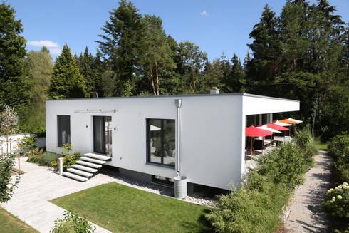 bauhaus villa in m nchen waldtrudering by 2p raum. Black Bedroom Furniture Sets. Home Design Ideas