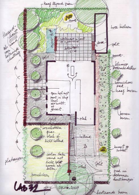 Droomhuis met 'Ambylight':   door Lab32 architecten