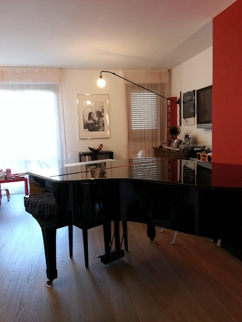 modern Living room by studio radicediuno
